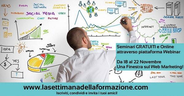 Web Marketing: La Settimana della Formazione SEO, Tourism Strategies, ...