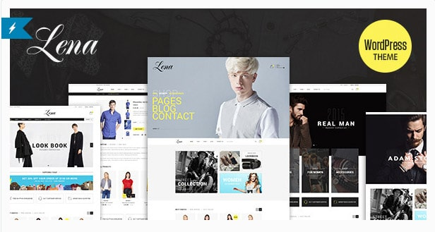 Lena - Shop WordPress WooCommerce Theme