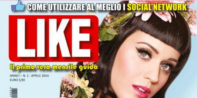 Like, la rivista cartacea dedicata ai social network?