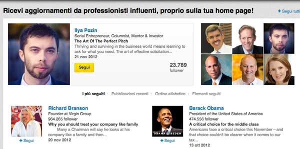 Social Network: LinkedIn e le eMail