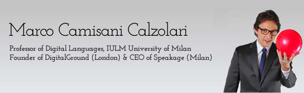 Website of Marco Camisani Calzolari