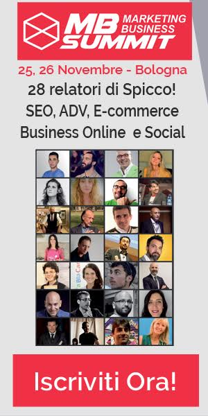 Marketing Business Summit Bologna 2016