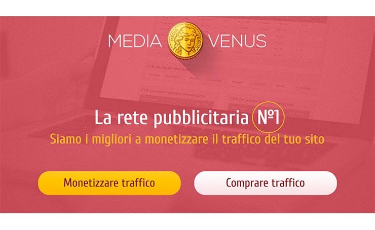MediaVenus - Guadagnare Online, Network CPM e CPC - Opinioni?