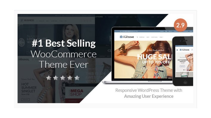 Flatsome: Responsive WooCommerce WordPress Template