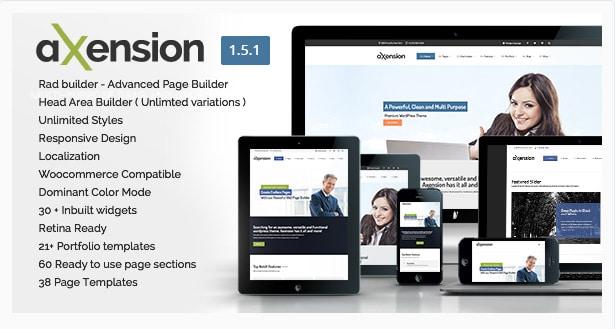 Axension - Powerful Multi Purpose WordPress Theme