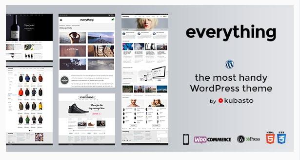 Everything - Responsive WordPress Theme
