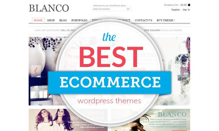 Migliori Template Wordpress Per eCommerce 2015