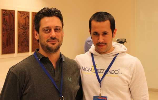 Monetizzando.com (Valerio Novelli) ed Emanuele Tolomei
