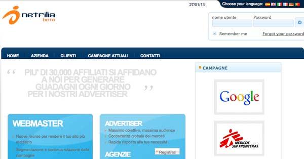 Network di Affiliazione Online: Netfilia