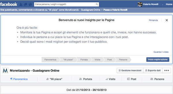 Facebook Analytics: Nuove Statistiche Disponibili