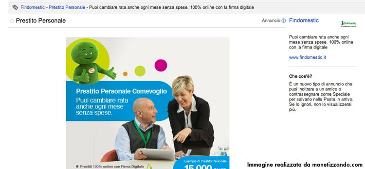 Nuovi Formati Adv: Google Sponsored Promotion: GMail Sponsored Ads?