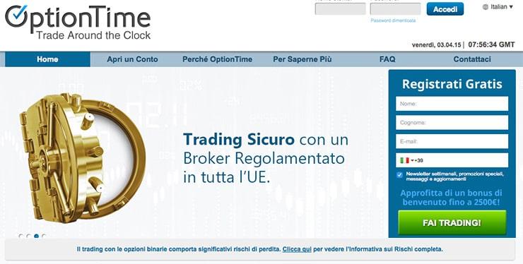 Broker opzioni binarie autorizzato consob