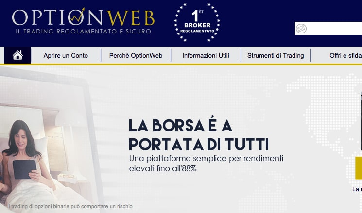 Opzioni Binarie OptionWeb: Promo Ottobre 2015