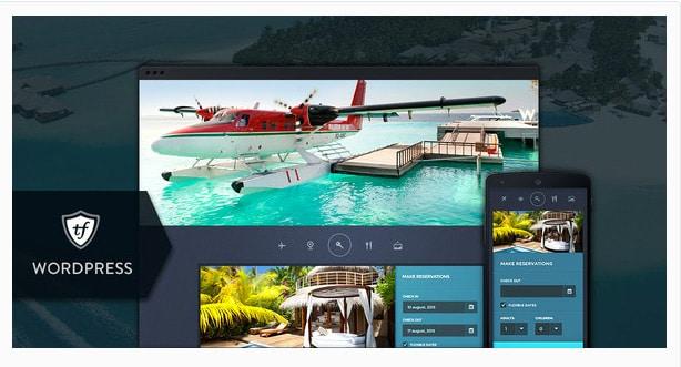 Paradise Cove - Hotel WordPress Theme