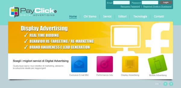 PayClick: Digital Advertising - Panoramica Azienda 2013