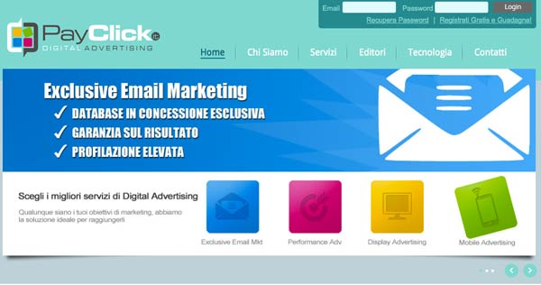 PayClick: Performance Advertising e Performance Marketing 2013