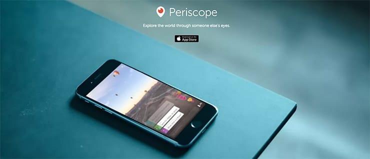 Condividere Eventi in Live Streaming: Periscope di Twitter