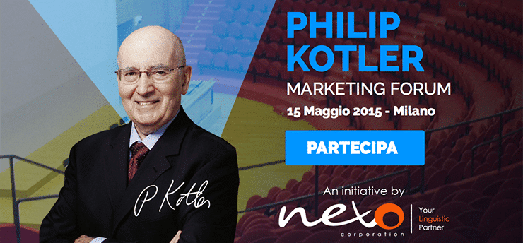Guru del Marketing in Italia: Philip Kotler Marketing Forum 2015