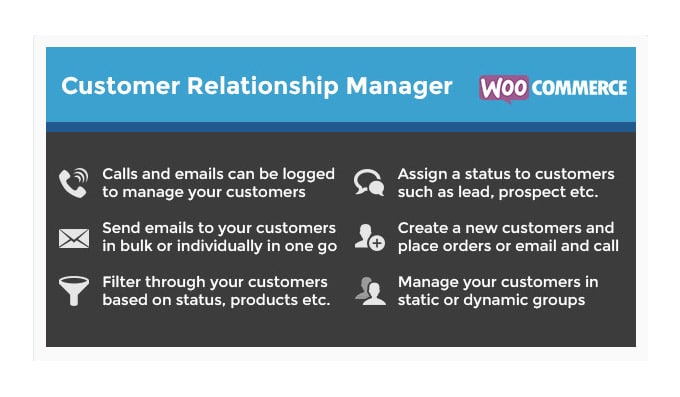 Plugin CRM WooCommerce: Customer Relationship Manager