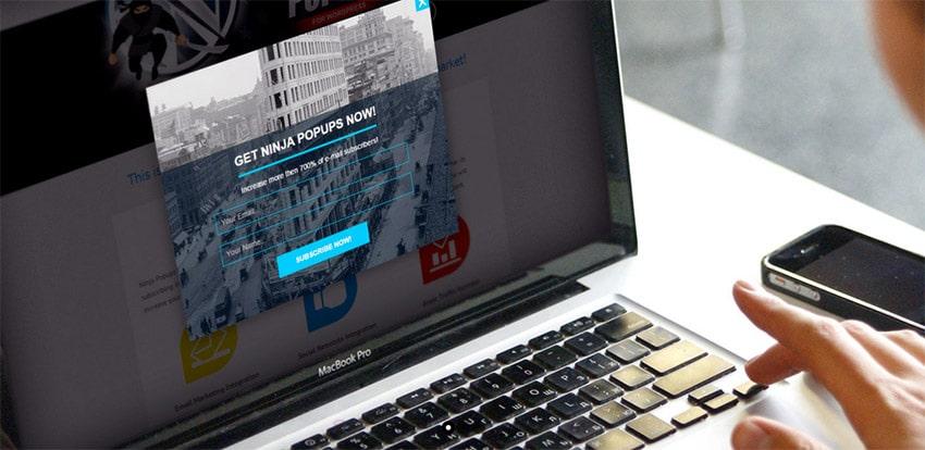 Plugin Premium Wordpress Pop Up Iscrizione / Vendita: Ninja Popups