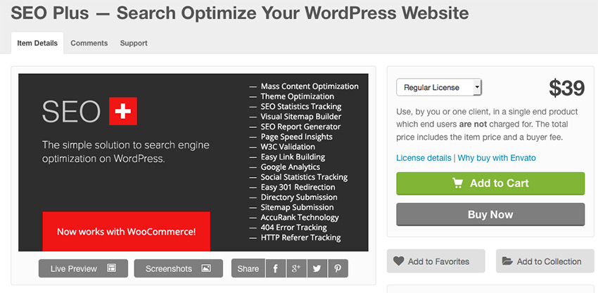 Plugin Wordpress SEO: SEO Plus (Mass Content Optimization)