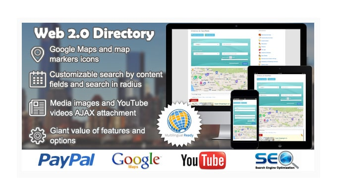 Plugin Wordpress Directory: Web 2.0 Directory Plugin