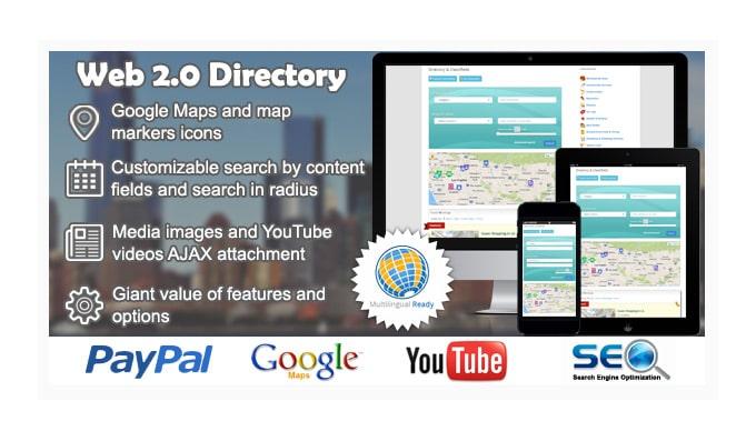 Plugin Wordpress Directory: Web 2.0 Directory Plugin