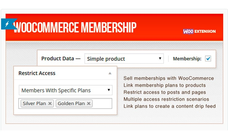 Plugin WordPress Membership: WooCommerce Membership