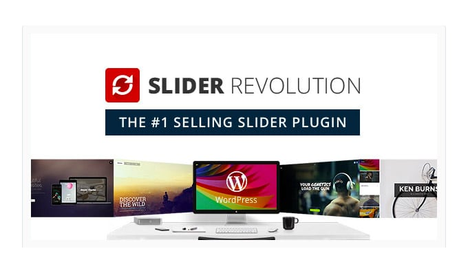 Plugin WordPress Slider Revolution