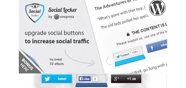 Plugin Wordpress per aumentare le condivisioni: Social Locker
