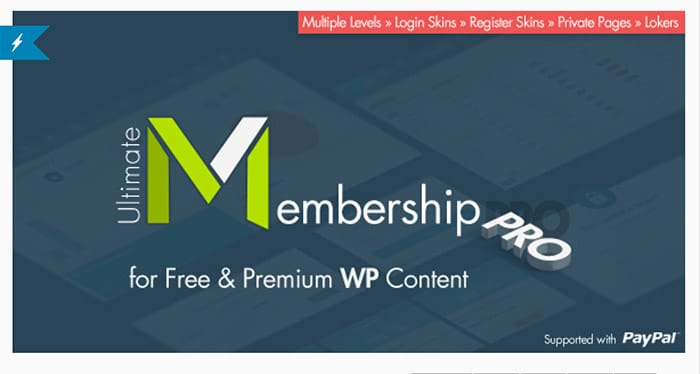 Plugin Wordpress Gestione Utenti - Membership Pro