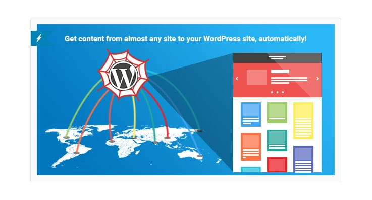 Plugin WordPress Contenuti: WP Content Crawler?