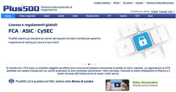 Plus500 Italia: Broker Forex Opinioni e Bonus?
