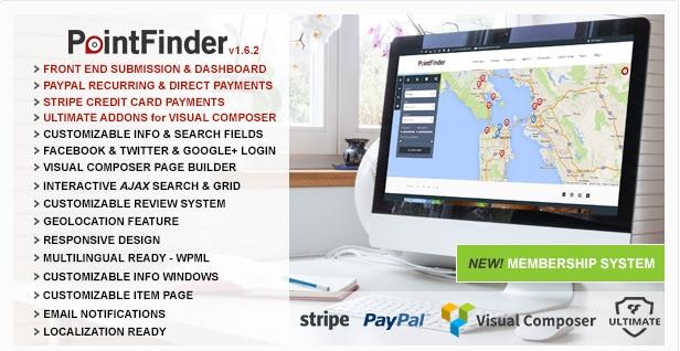 Point Finder Directory WordPress