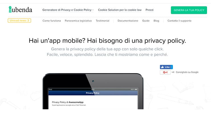 Privacy Policy Obbligatoria Per le App su Google Play Store?