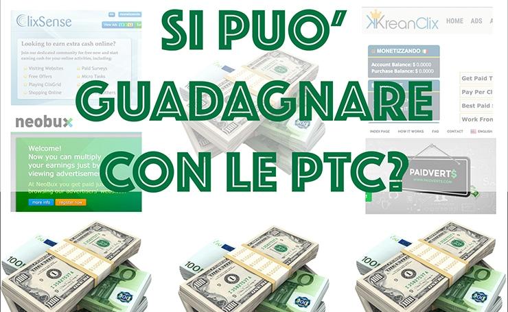 Migliori PTC Serie e Paganti: Si può guadagnare online?