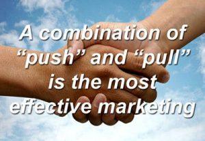 push e pull marketing online