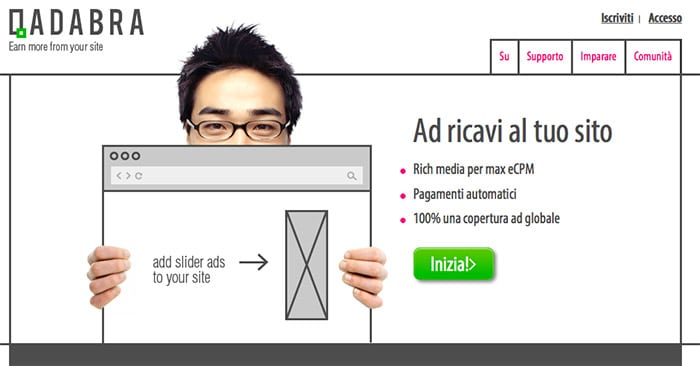 Qadabra: una alternativa a Google AdSense