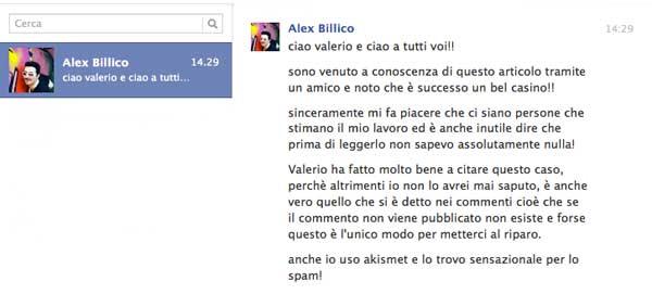 Risposta Alex Bilico Monetizzando
