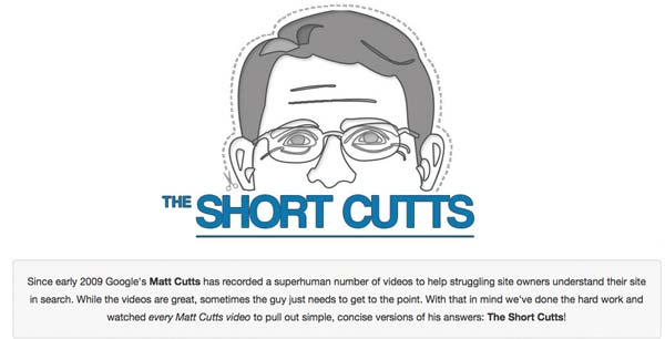 SEO: The Short Cutts - Le Risposte di Matt Cutts Sintetizzate!