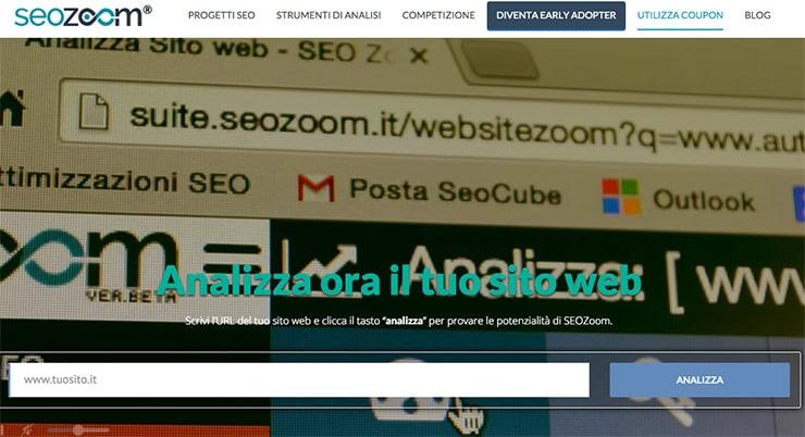 SEOZoom: Suite SEO 100% Italiana Pronta al Lancio Ufficiale