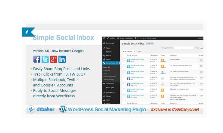 Plugin per condividere post su Facebook, Twitter, Social