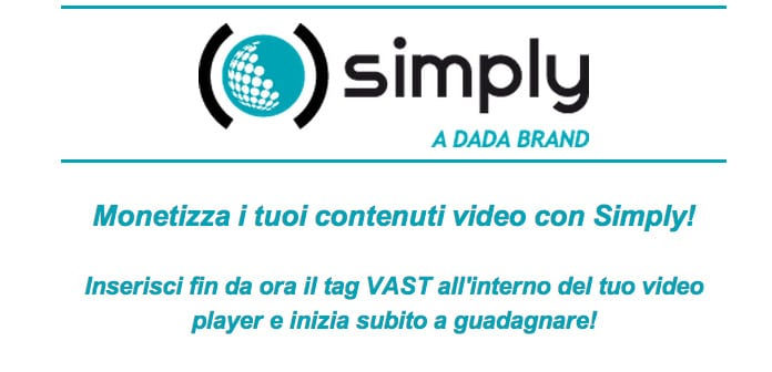 Simply Publisher punta ai contenuti video: pre-roll per guadagnare online?
