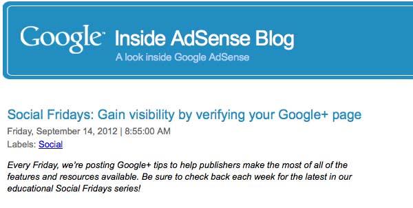 Social: Guadagnare Visibilità Verificando La Pagina