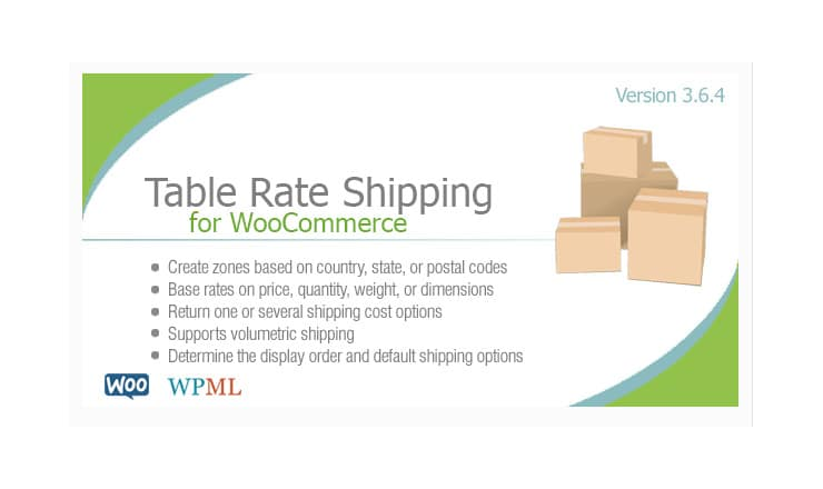 Plugin Tabelle Prezzi Spedizione Wordpress: Table Rate Shipping
