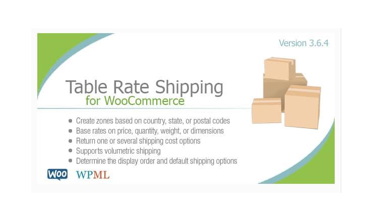 Plugin Tabelle Prezzi Spedizione Wordpress: Table Rate Shipping