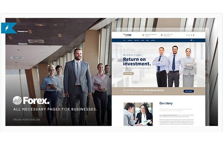 Tema Wordpress Per Sito Finanza, Trading e Business: Forex 2016