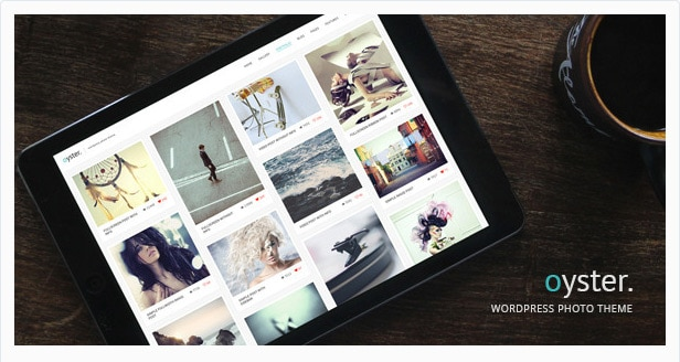 Oyster Creative Photo Template WordPress