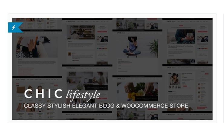 Template Wordpress Magazine 2015: Chic Lifestyle