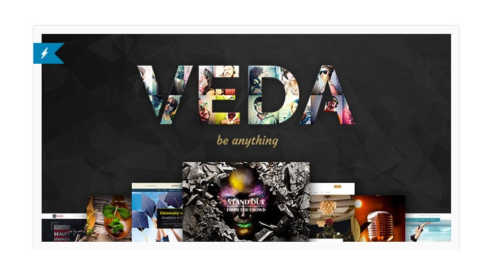 Template WordPress MultiUso 2016: Veda